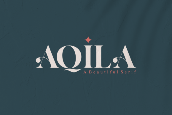 Print on Demand: Aqila Serif Font By Vroz Studio
