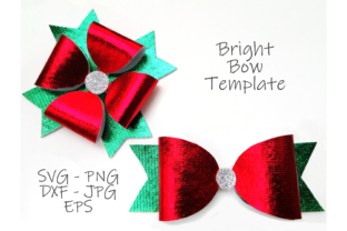 Print on Demand: Bright Bow Template SVG Bundle, Svg, Png Graphic Crafts By CuteShopClipArt