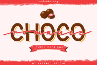 Print on Demand: Choco Romance Script & Handwritten Font By Katario Studio