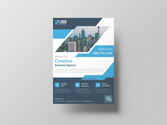 Corporate Flyer Template Graphic Download
