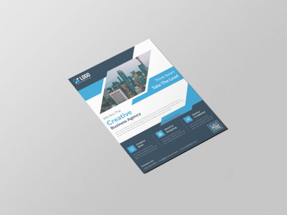 Corporate Flyer Template Graphic Item