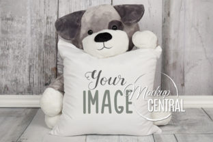 Cute Baby Child Square Mockup Pillow Graphic Product Mockups By Mockup Central