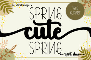 Print on Demand: Cute Spring Script & Handwritten Font By Fillo Graphic