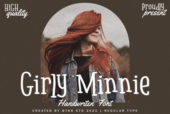 Print on Demand: Girly Minnie Script & Handwritten Font By tokokoo.studio