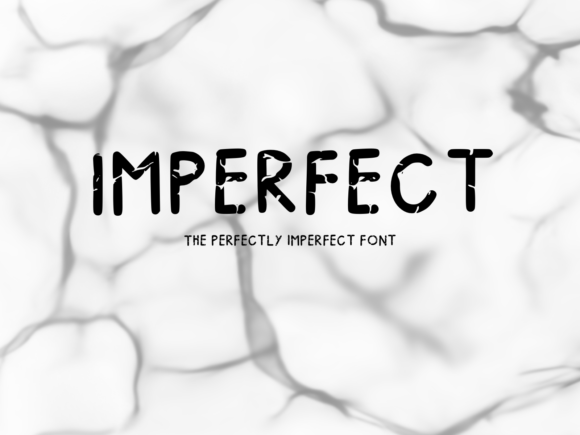 Print on Demand: Imperfect Display Font By fonts.ness