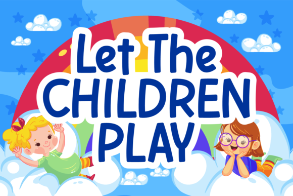 Print on Demand: Let the Children Play Script & Handwritten Font By Situjuh