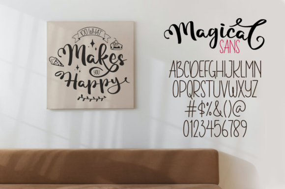 Magical Font Design Item