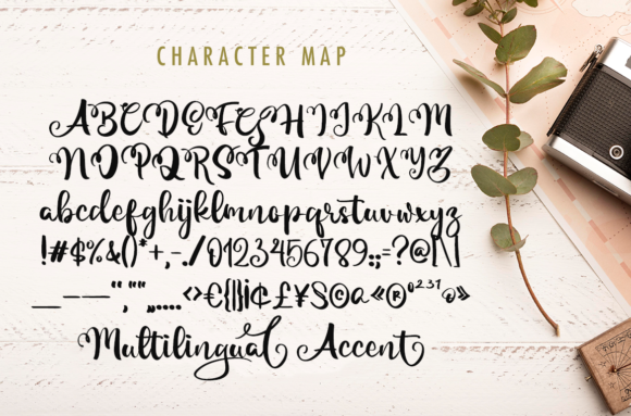 Magical Font Popular Design