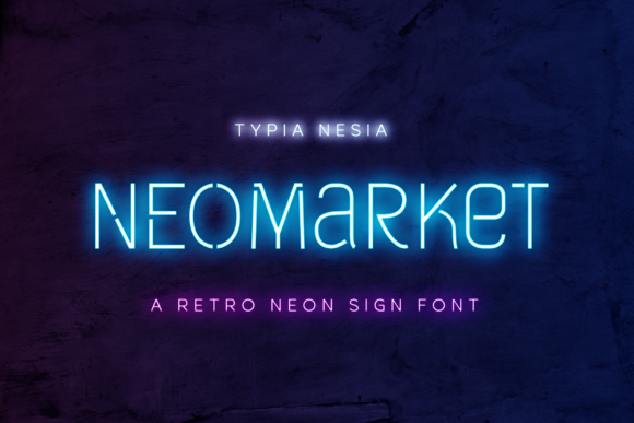Print on Demand: Neomarket Display Font By Typia Nesia