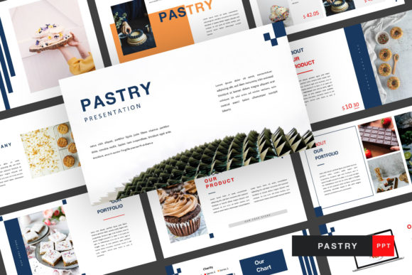 Pastry Presentation Tamplate Graphic Presentation Templates By typehome.std
