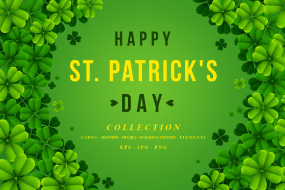 St. Patrick Day Collection Graphic Illustrations By zhyecarther