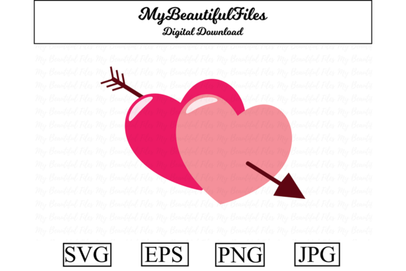 Print on Demand: Valentines Day - Hearts Clipart Graphic Illustrations By MyBeautifulFiles
