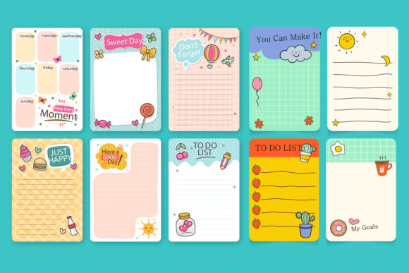 Print on Demand: Collection of Scrapbook Notes Graphic Illustrations By Zweed n roll