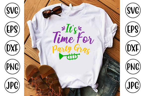 It's Time for Party Gras Graphic Crafts By ismetarabd