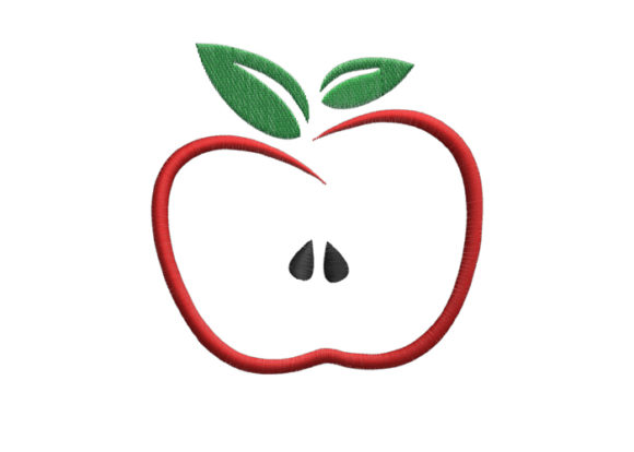 Apple Embroidery