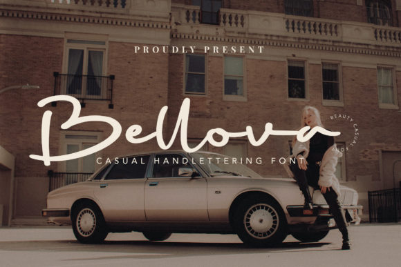 Print on Demand: Bellova Script & Handwritten Font By fontherapy