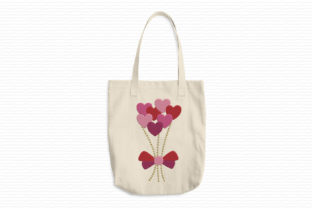 Print on Demand: Bouquet of Hearts Valentine's Day Embroidery Design By EmbArt 2