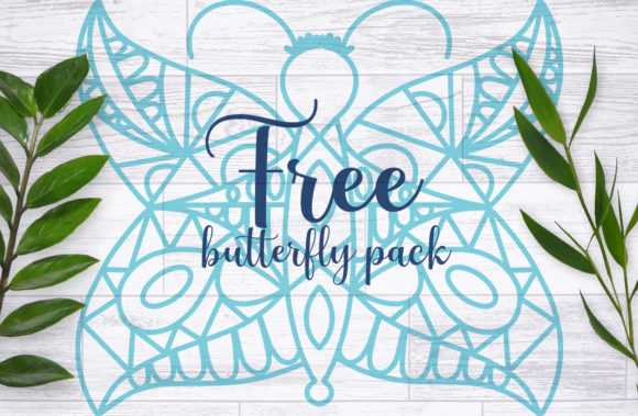 Butterfly Pack Graphic Crafts By Firefly Designs