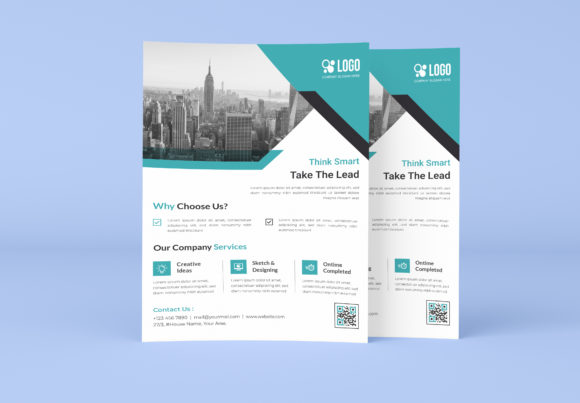 Corporate & Business Flyer Template Graphic Print Templates By GraphicHut
