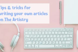 How to write a blog article for The Artistry