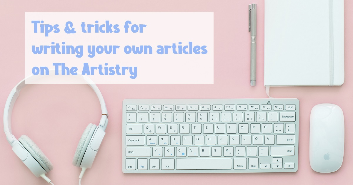How to write a blog article for The Artistry main article image