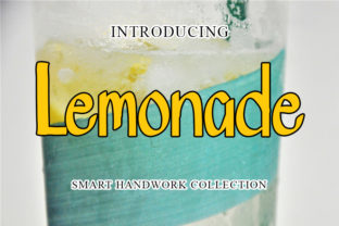 Print on Demand: Lemonade Manuscrita Fuente Por mizanstudio