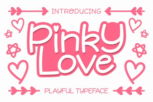 Print on Demand: Pinky Love Script & Handwritten Font By Keithzo (7NTypes)