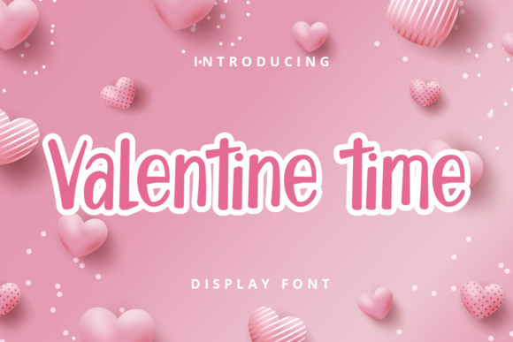 Print on Demand: Valentine Time Script & Handwritten Font By Planetz studio