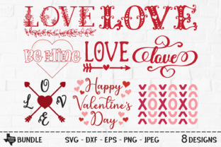Print on Demand: Valentine's Day Bundle Graphic Crafts By texassoutherncuts