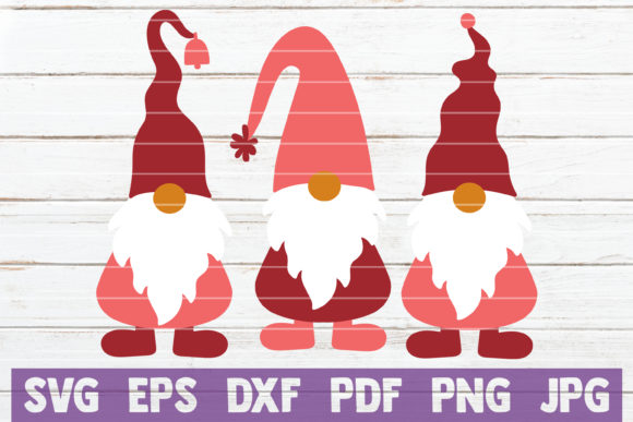 Valentines Gnomes Graphic Crafts By MintyMarshmallows
