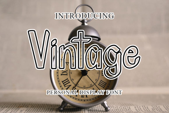 Print on Demand: Vintage Script & Handwritten Font By mizanstudio
