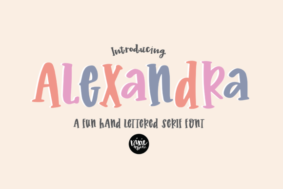 Print on Demand: Alexandra Script & Handwritten Font By dixietypeco