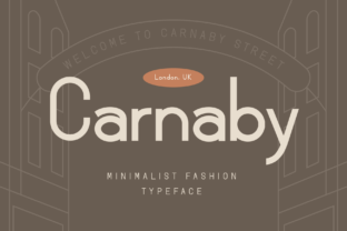 Print on Demand: Carnaby Sans Serif Font By Bekeen.co