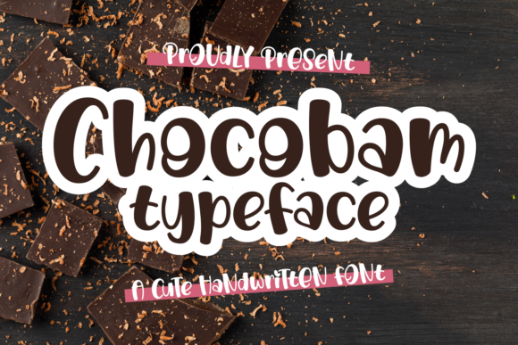 Print on Demand: Chocobam Display Font By Dani (7NTypes)
