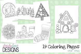 Christmas Coloring Pages - 1