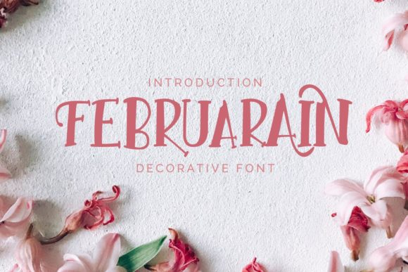 Print on Demand: Februarain Script & Handwritten Font By Nico Muslib