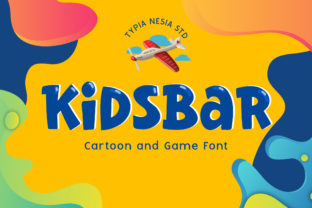 Print on Demand: Kidsbar Display Font By Typia Nesia