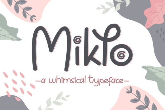 Print on Demand: Miklo Script & Handwritten Font By Dani (7NTypes)