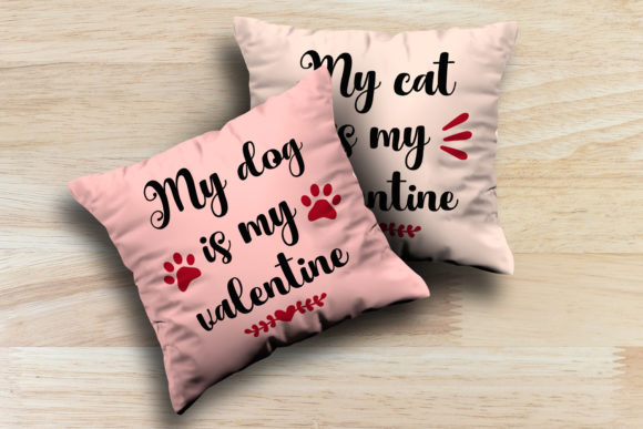 Download My Dog My Cat Is My Valentine Svg Graphic By La Oliveira Creative Fabrica