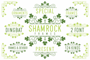 Print on Demand: Shamrock Dingbats Font By Kelik - 7NTypes
