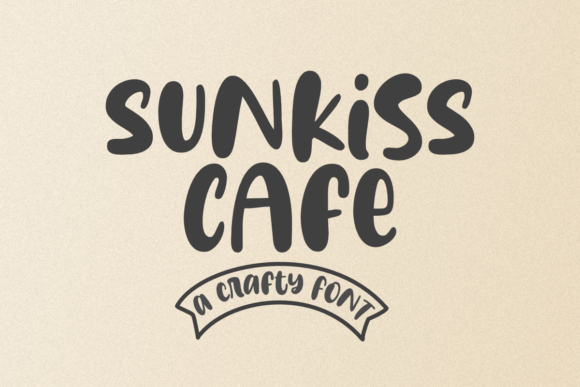 Print on Demand: Sunkiss Cafe Display Font By Epiclinez