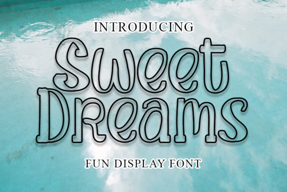 Print on Demand: Sweet Dreams Script & Handwritten Font By shiddiq.art