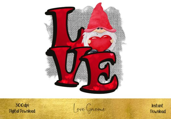 Valentine Love Gnome Graphic Illustrations By STBB