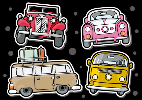Doodle Sticker Clipart Collection Graphic Illustrations By ABs