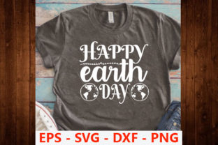 Print on Demand: Earth Day Svg Design,Happy Earth Day Graphic Print Templates By Iyashin_graphics