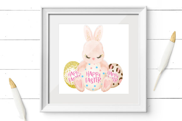 Easter Clipart, Easter Animal Clipart Graphic Design