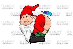 Gnomes Are Awesome /Digital Design  PNG Graphic Illustrations By Fundesings