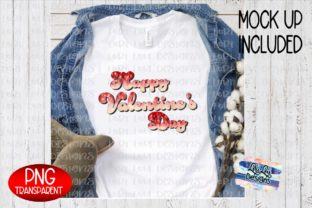 Print on Demand: Happy Valentine's Day Glitter Ombre PNG Graphic Illustrations By Lori Lou Designs