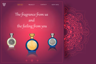 Landing Page : Template Website Graphic Landing Page Templates By dsharifmat1990