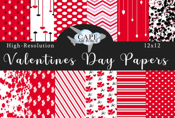 Print on Demand: The Valentine Papers Graphic Patterns By CapeAirForce